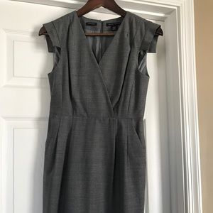 Gorgeous tailored gray dress
